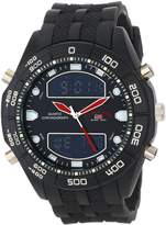 U.S. Polo Assn. Classic Men's US9114 Rubber Ana-Digital Watch
