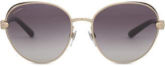 Bvlgari Bv6087 round-frame sunglasses