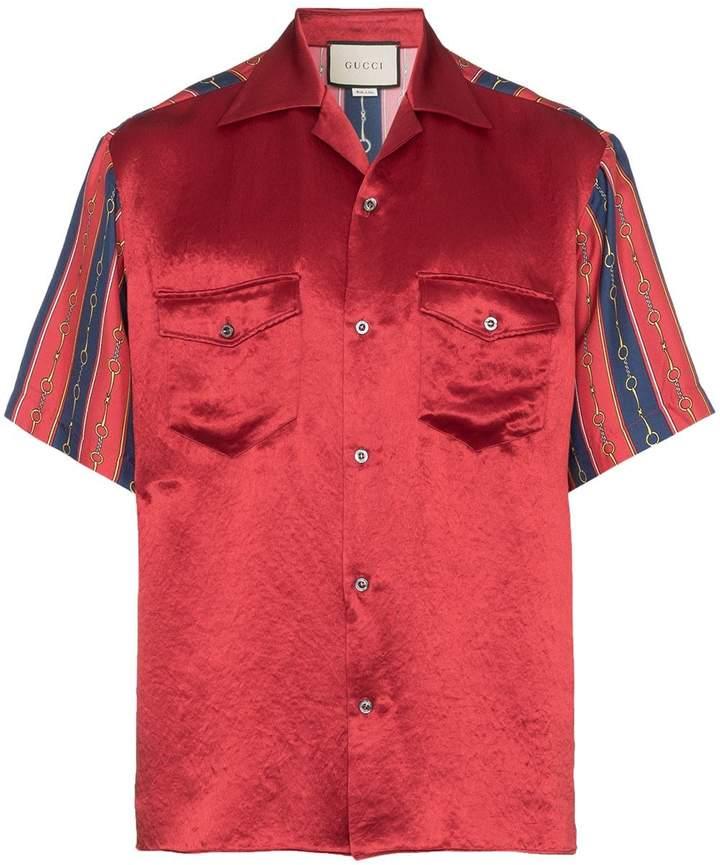 10de41fcf Gucci Striped Shirt - ShopStyle