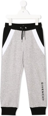 Givenchy Kids printed logo track trousers