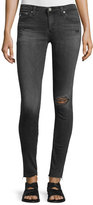 AG Jeans The Legging 10 Years Well Distressed Ankle Jeans