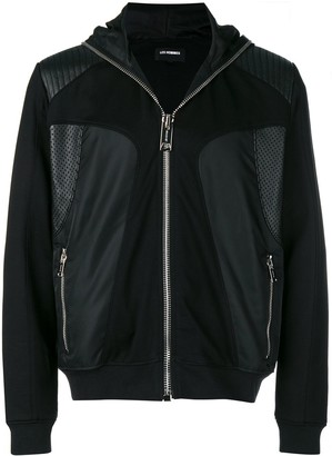 Les Hommes Hooded Technical-Style Jacket