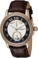 Stuhrling Original Men's 788.03 Symphony Analog Display Swiss Quartz Brown Watch