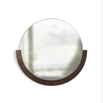 Umbra Mira Mirror - Aged Walnut