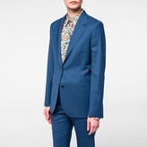Paul Smith A Suit To Travel In - Women's Petrol Blue Two-Button Wool Blazer