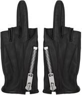 99% Is Black Single-Finger Zip Gloves