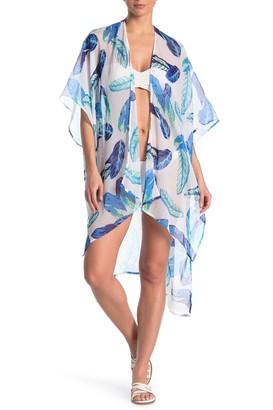 Rachel Roy Oahu Palm Swimsuit Cover-Up