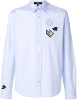 Versus Patched shirt - men - Cotton - 46