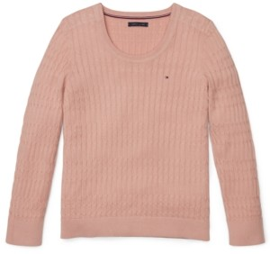 Tommy Hilfiger Adaptive Women's Scoop-Neck Sweater