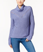 American Rag Cutout-Back Turtleneck Sweater, Only at Macy's