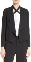 Alice + Olivia Women's Draped Shawl Collar Blazer