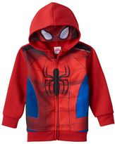 Toddler Boy Marvel Spider-Man Eye Mask Hoodie
