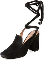Sigerson Morrison Women's Posie Ankle-Wrap Loafer