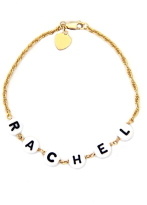 Jane Basch Designs Beaded Baby Name Bracelet