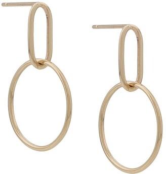3.1 Phillip Lim Origin 9kt yellow gold small Hoola hoop earrings