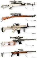 Nobrand Keychains Key Chain PUBG AWM AKM M416 98K Gun Weapon Model Pendant 20cm 78g