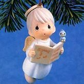 """Precious Moments 15 Years Tweet Music Together"""" Porcelain Ornament"""