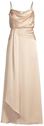 Fame & Partners Anita Draped Gown