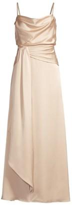 Fame & Partners Anita Draped Gown