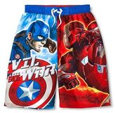 Boys' Captain America Swim Trunk
