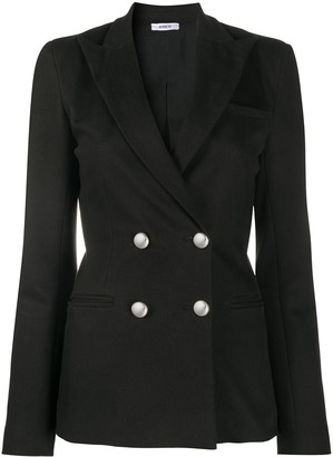 Amen Fitted Double Breasted Blazer