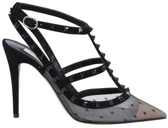 Valentino Rockstud pumps with cage effect straps