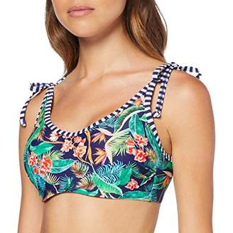 Pour Moi? Women's Havana Breeze Underwired Cami Top Bikini, Multicolour Multi, (Size:)