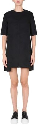 Rick Owens Panelled T-Shirt Dress