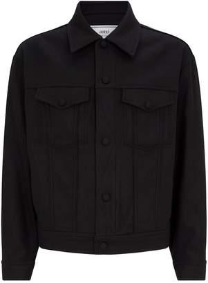 Ami Paris Wool Trucker Jacket