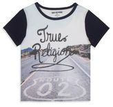 True Religion Toddler's, Little Boy's, & Boy's Route 02 Tee