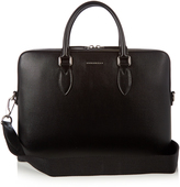 Burberry Barrow saffiano-leather briefcase
