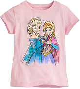 Disney Anna and Elsa Tee for Girls