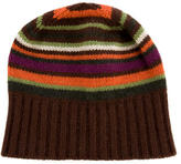 Etro Cashmere Striped Beanie
