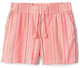 Gap Multi-stripe dobby drapey shorts