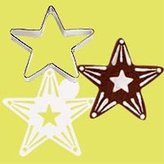 Wilton Cookie Cutter & Stencil Set - Star