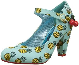 Irregular Choice Poetic Licence by Women's the Right Stripes Mary Janes,41 EU