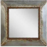 3r Studio Square Metal-Framed Mirror