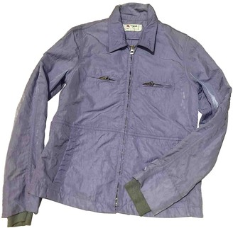 Cycle Purple Cotton Jacket for Women