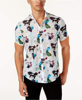 INC International Concepts Men's Floral-Print Shirt, Created for Macy's