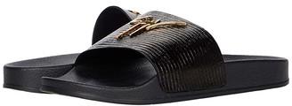 Giuseppe Zanotti RM90068E (Black/Gold) Men's Shoes