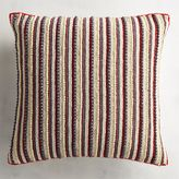 Pier 1 Imports Beaded Americana Striped Pillow