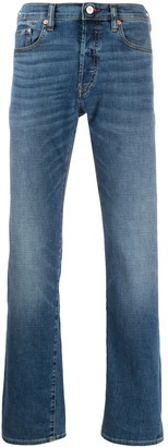 Paul Smith High-Rise Straight-Leg Jeans