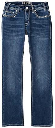 Rock and Roll Cowgirl Boyfriend in Medium Wash W2-4132 (Medium Wash) Women's Jeans