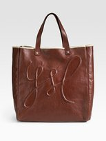 Medium Shopping Leather Tote