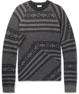 Dries Van Noten Fair Isle Wool-Blend Sweater