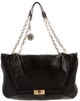 Lanvin Textured Shoulder Bag