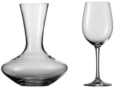 Fortessa Classico Wine/Water Crystal Goblets and Decanter Set (7 PC)