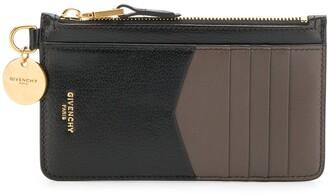 Givenchy logo charm wallet
