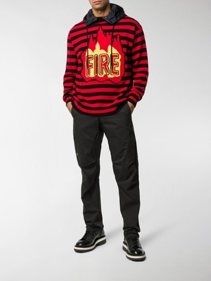 MONCLER GRENOBLE Fire hoodie