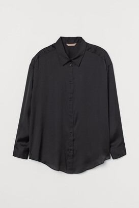H&M H&M+ Satin blouse